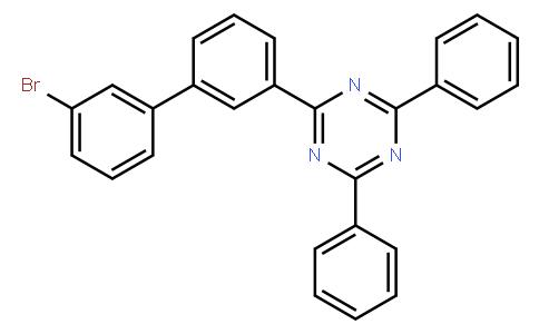 2(3(3'-溴联苯基))-4,6-二苯基-1,3,5-三嗪