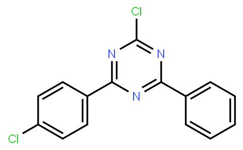 2-chloro-4-(4-chlorophenyl)-6-phenyl-1,3,5-triazine