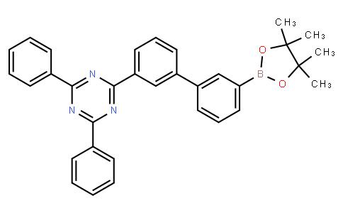 2,4-diphenyl-6-[3'-(4,4,5,5-tetramethyl-1,3,2-dioxaborolan-2-yl)[1,1'-biphenyl]-3-yl]-1,3,5-Triazine