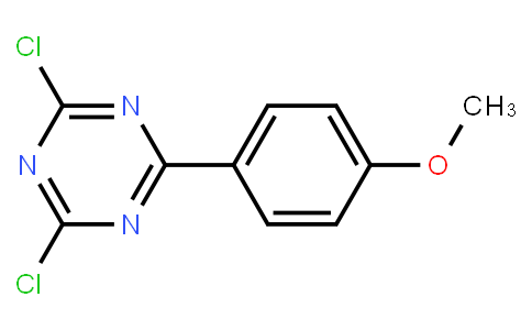 2,4-dichloro-6-(4-methoxyphenyl)-1,3,5-triazine