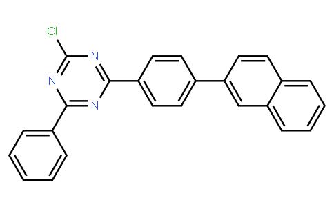 2-chloro-4-(4-(naphthalen-2-yl)phenyl)-6-phenyl-1,3,5-triazine