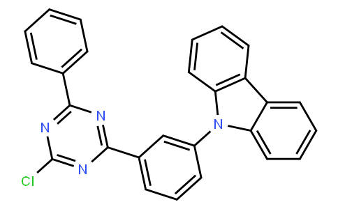 9-[3-(4-Chloro-6-phenyl-[1,3,5]triazin-2-yl)-phenyl]-9H-carbazole