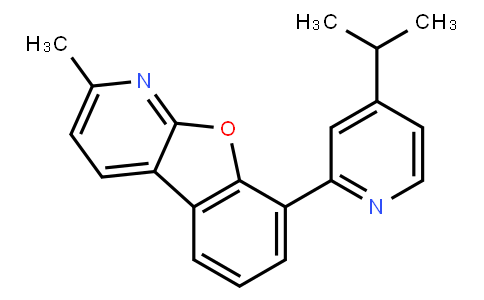 2-Methyl-8-[4-(1-methylethyl)-2-pyridinyl)benzofuro[2,3-b]pyridine
