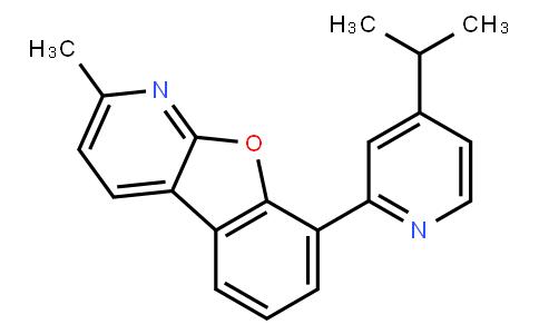 2-Methyl-8-[4-(1-methylethyl)-2-pyridinyl)benzofuro[2,3-b]pyridine