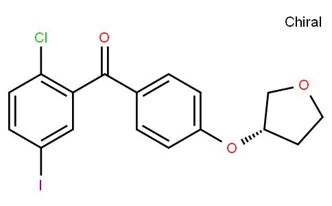 RS20024   915095-87-3   Methanone, (2-chloro-5-iodophenyl)[4-[[(3S)-tetrahydro-3-furanyl]oxy]phenyl]-