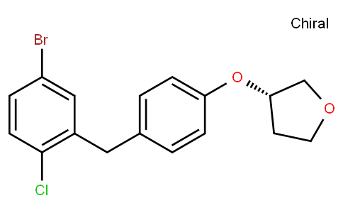 RS20025 | 915095-89-5 | (3S)-3-[4-[(5-bromo-2-chlorophenyl)methyl]phenoxy]oxolane