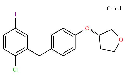 RS20026 | 915095-94-2 | (S)-4-iodo-1-chloro-2-(4-tetrahydrofuran-3-yloxy-benzyl)-benzene