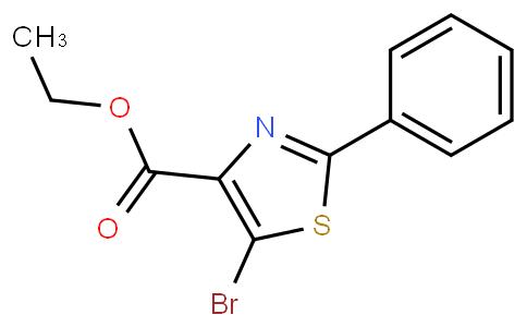5-Bromo-2-phenyl thiazole-4-carboxylic acid ethyl ester