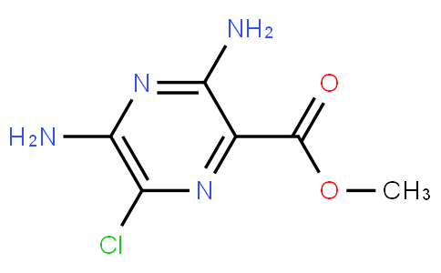 RS20229 | 1458-01-1 | Methyl 3,5-diamino-6-chloropyrazine-2-carboxylate