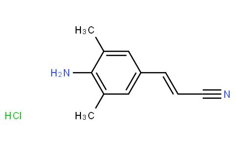 RS20265 | 661489-23-2 | (E)-3-(4-AMino-3,5-diMethylphenyl)acrylonitrile Hydrochloride