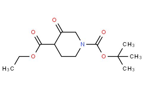 1-tert-butyl 4-ethyl 3-oxopiperidine-1,4-dicarboxylate