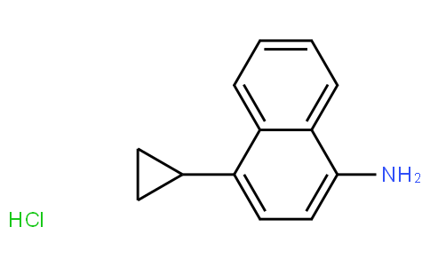 RS20281 | 1533519-92-4 | 4-cyclopropyl-1-naphthalenamine hydrochloride