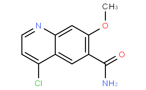 RS20292 | 417721-36-9 | 4-Chloro-7-methoxyquinoline-6-carboxaMide