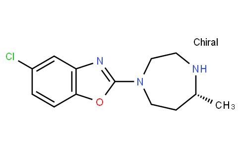 RS20294 | 1266975-27-2 | 5-chloro-2-((5r)-hexahydro-5-methyl-1h-1,4-diazepin-1-yl)benzoxazole