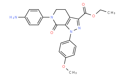 RS20295 | 503615-07-4 | ethyl 6-(4-aMinophenyl)-1-(4-Methoxyphenyl)-7-oxo-4,5,6,7-tetrahydro-1H-pyrazolo[3,4-c]pyridine-3-carboxylate