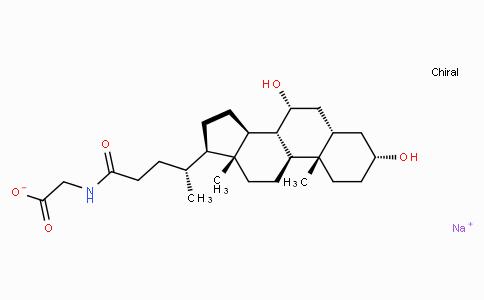 GLYCOCHENODEOXYCHOLIC ACID SODIUM SALT