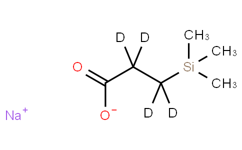 2,2,3,3-D4-3-(TRIMETHYLSILYL)PROPIONIC ACID SODIUM SALT
