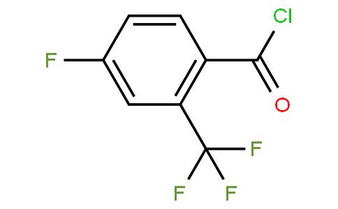 4-Fluoro-2-(trifluoromethyl)benzoyl chloride