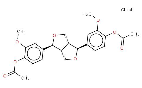 (+)-Piresil diacetate
