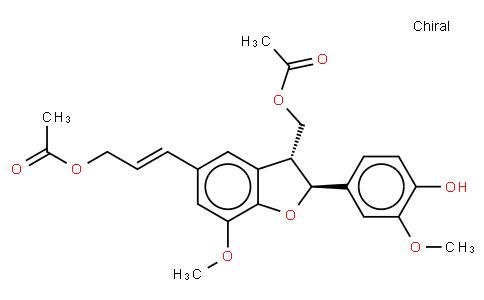 Dimeric coniferyl acetate