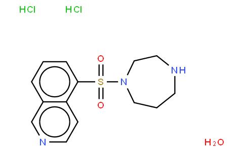 1-(5-Isoquinolinylsulfonyl)homopiperazine dihydrochloride, Fasudil dihydrochloride