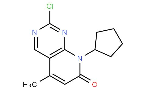 2-chloro-8-cyclopentyl-5-methylpyrido[2,3-d]pyrimidin-7-one