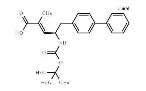 (E,4r)-2-methyl-4-[(2-methylpropan-2-yl)oxycarbonylamino]-5-(4-phenylphenyl)pent-2-enoic acid