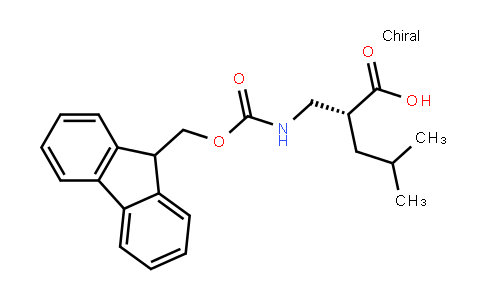 Fmoc-(R)-2-(aminomethyl)-4-methylpentanoic acid