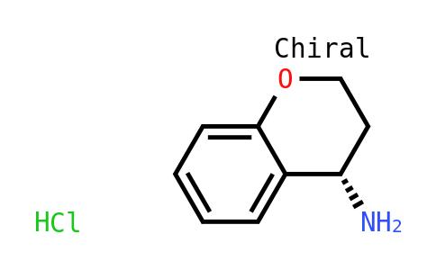 (4S)-3,4-dihydro-2h-chromen-4-amine hydrochloride