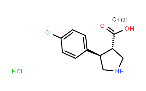 H-trans-DL-b-Pro-4-(4-chlorophenyl)-OH·HCl
