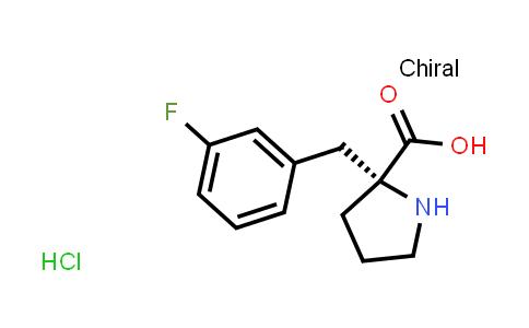 (R)-aLpha-(3-fluoro-benzyl)-proline-hcl