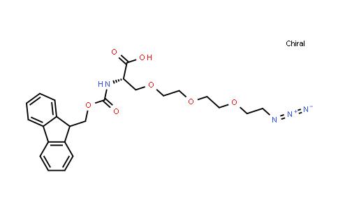 Fmoc-Ser(azido-PEG3)-OH