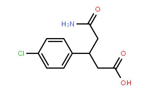 5-aMino-3-(4-chlorophenyl)-5-oxopentanoic acid