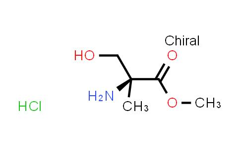 Methyl (2S)-2-amino-3-hydroxy-2-methylpropanoate hydrochloride