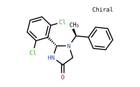 (2S)-2-(2,6-dichlorophenyl)-1-[(1s)-1-phenylethyl]imidazolidin-4-one