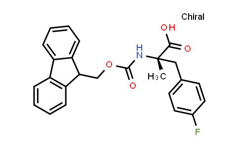 Fmoc-Alpha-Methyl-L-4-Fluorophe