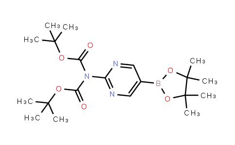 2-(N,N-BisBoc-amino)pyrimidine-5-boronic acid, pinacol ester