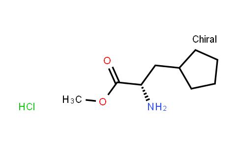 Methyl (2s)-2-amino-3-cyclopentylpropanoate hydrochloride