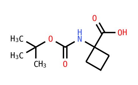 N-tert-Butoxycarbonyl-1-aminocyclobutanecarboxylic Acid