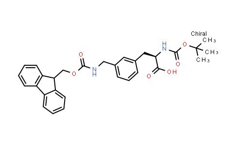 Boc-3-(Fmoc-aminomethyl)-D-phenylalanine