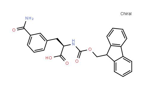 Fmoc-D-3-Carbamoylphe