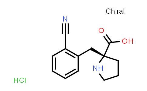 (R)-alpha-(2-cyano-benzyl)-proline-HCl
