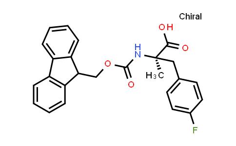 Fmoc-Alpha-Methyl-D-4-Fluorophe