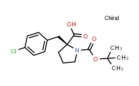 Boc-D-{Bzl(4-Cl)}Pro-OH