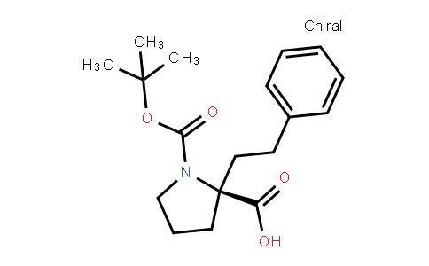 Boc-(R)-alpha-phenethyl-proline