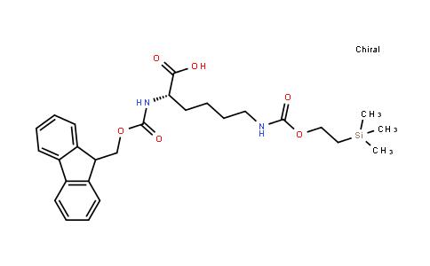 Fmoc-L-Lys(Teoc)-OH