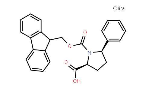 Fmoc-(2S,5R)-5-phenylpyrrolidine-2-carboxylic acid
