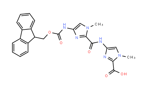 4-[[[4-[(9-fluorenylmethoxycarbonyl)amino]-1-methylimidazol-2-yl]carbonyl]amino]-1-methylimidazole-2-carboxylic acid
