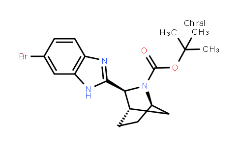 (1R,3s,4s)-tert-butyl 3-(6-bromo-1h-benzo[d]imidazol-2-yl)-2-azabicyclo[2.2.1]heptane-2-carboxylate