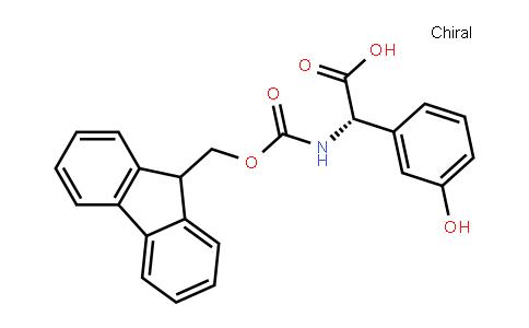 (S)-a-(Fmoc-amino)-3-hydroxy-benzeneacetic acid